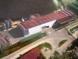 Vista aerea de la planta de Proyegrasa