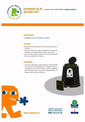 CARTEL DE LA CAMPAÑA DE COMPOSTAJE DOMÉSTICO