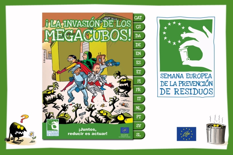 Imagen del comic digital: La invasión de los megacubos