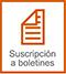 Suscripción a Boletines