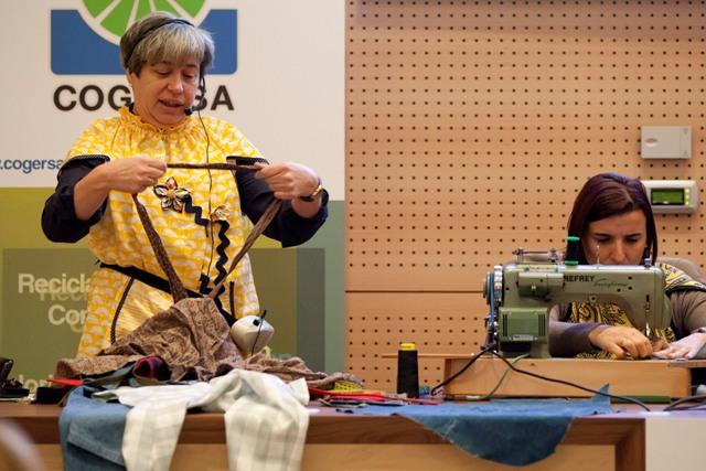 Imagen del taller celebrado en COGERSA durante la SEPR 2011