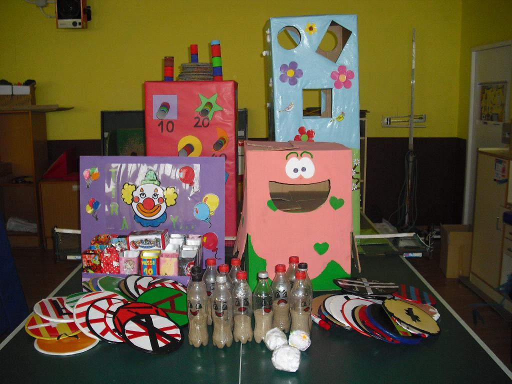 Concurso de juegos y juguetes reciclados