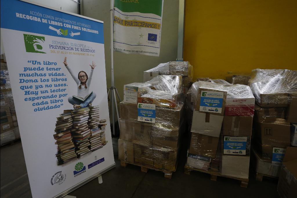 Presentación de los resultados de la recogida de libros con fines solidarios