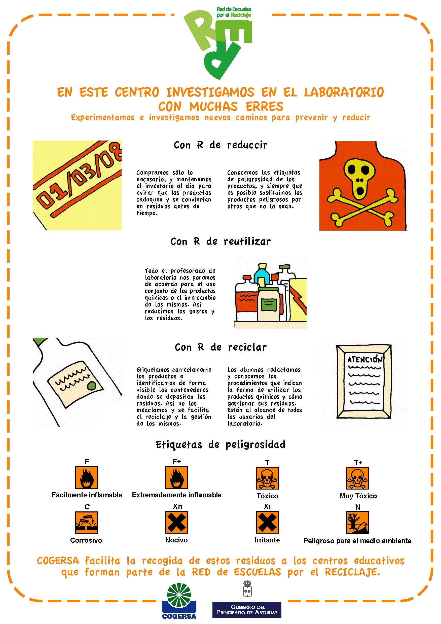 Imagen del cartel para un laboratorio