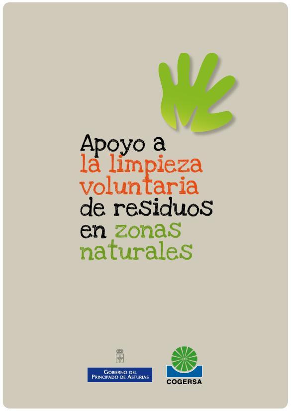 Imagen del cartel de la campaña de patrocinio de limpiezas voluntarias de residuos en espacios naturales