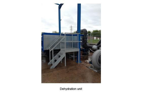 Unidad de deshidratación