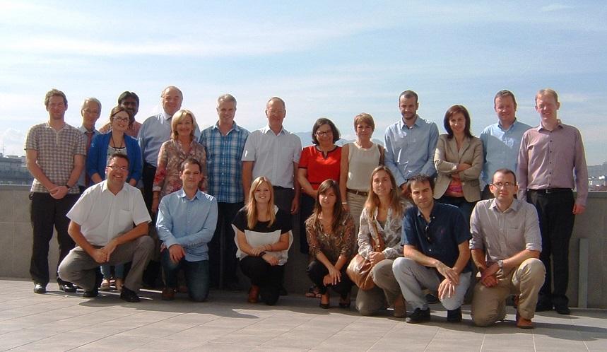 Foto de familia de los participantes / Group photo