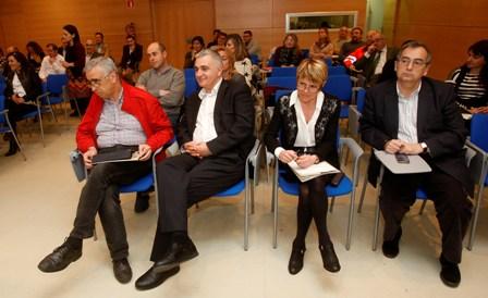 Foto del público asistente a la jornada técnica sobre materia orgánica