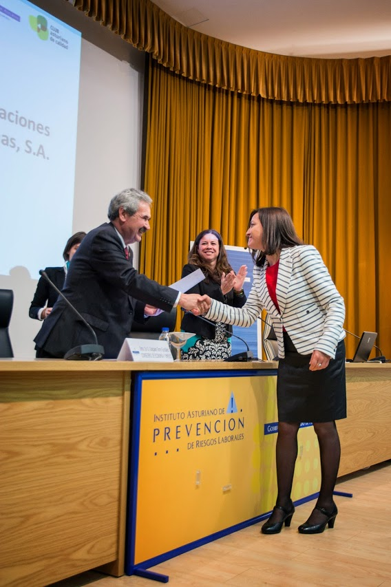 COGERSA un reconocimiento a su esfuerzo y compromiso en prevención de riesgos laborales