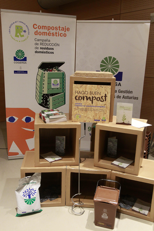 """Premios del concurso """"Hago buen compost"""""""
