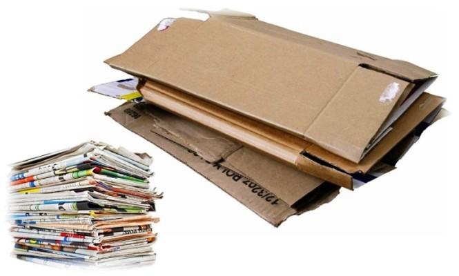 Foto de papel y cartón