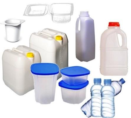 Foto de envases de plástico