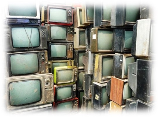 Foto de televisores