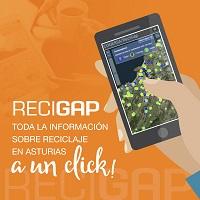 Logotipo proyecto ReciGap