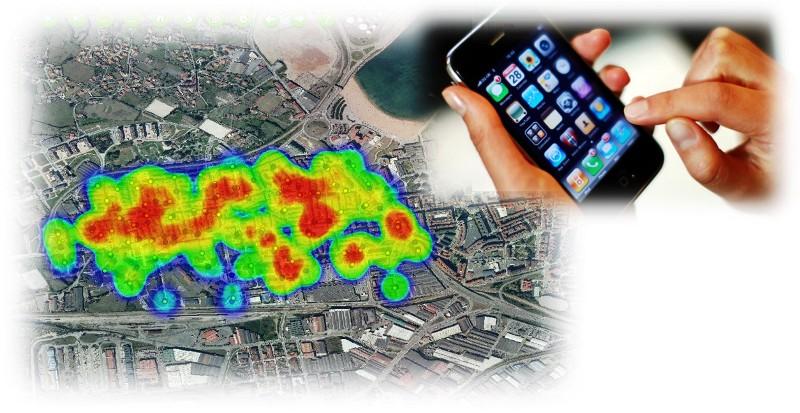 Imagen de una simulación de una pantalla de ReciGap