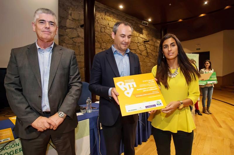 Entrega del premio al CP El Quirinal