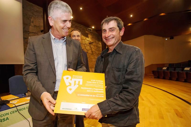 Entrega del premio al IES Arzobispo Valdés-Salas