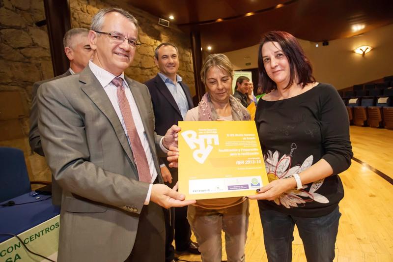 Entrega del premio al IES Monte Naranco