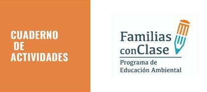 Imagen de la portada del Cuaderno de actividades de Familias con clase